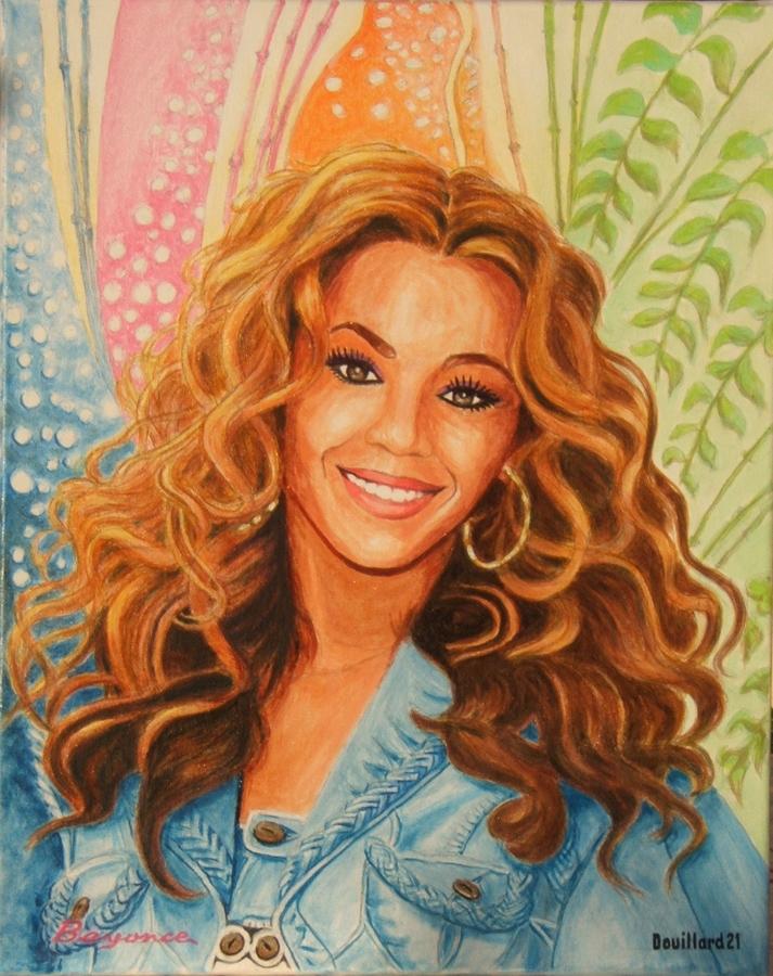 Beyonce por Douillard